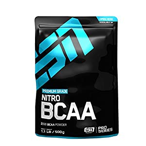 ESN Nitro BCAA Powder, Green Apple, 500 g