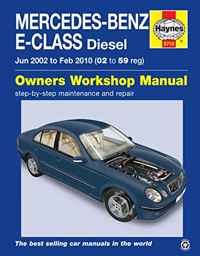 Used, Mercedes-Benz E-class 02 - 59 Diesel (Haynes Owners for sale  Delivered anywhere in UK
