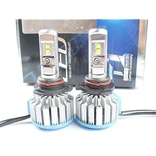 ANFTOP 70W Car LED Headlight Kit 9012 HIR2 7000lm 6000K White Auto LED Headlamp Bulbs Driving Fog Lamp Conversion Kit 12v Replace for Halogen Bulbs