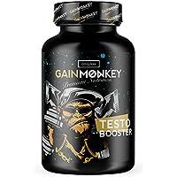 Preisvergleich für Original GAINMONKEY TESTO BOOSTER | Tribulus Terrestris – Maca Komplex mit reinem Zink in Premiumqualität | Vitamin...