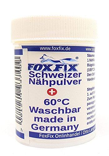 Schweizer Nähpulver Textil-Reparatur-Kleber 9g Stoff-kleber Zum bügeln, Jeans-Flicken Zum aufbügeln Selber Machen