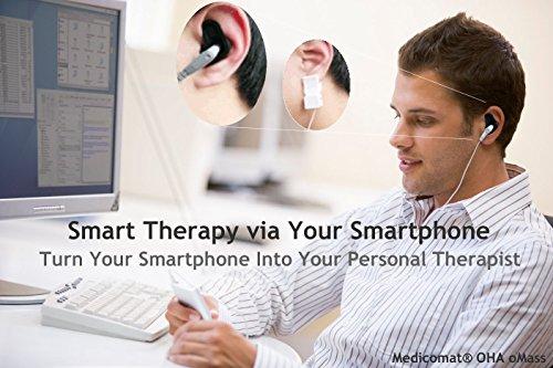 Smartphone Basierte Alternative Therapien für Angst Depression Stress Müdigkeit Schlaf Schmerzen Störungen - Schalten Sie Ihr Smartphone in ein Therapiezentrum (Medicomat-1 OMass Geräte App mit dem Knöchel für Android Smartphone Tablet) (Knöchel-tab)