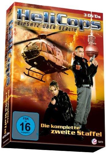 Helicops - Einsatz über Berlin: Die komplette zweite Staffel [3 DVDs]
