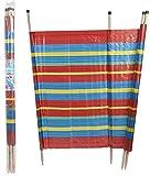 PMS 5'Hohe 8Pole Windschutz Strand Wind Shelter Sommer Reisen einfach zu transportieren