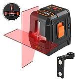 Livella laser, Tacklife SC-L07 15m Crossover autolivellante, Tre modalità, Laser lineare automatico...