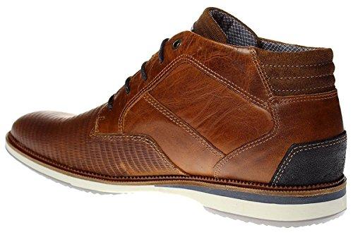 Bullboxer 633-K5-UDOC - Herren Schuhe Schnürer Sneaker Braun