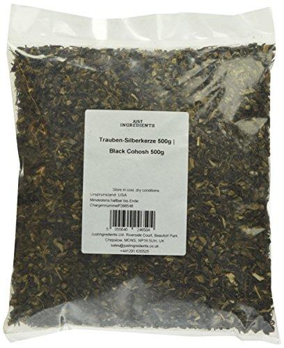 JustIngredients Trauben-Silberkerze, Black Cohosh, 1er Pack (1 x 500 g)