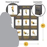 High Pulse Massageball – Für eine gezielte Massage und Regeneration der Muskeln im Nacken und Rücken (8cm oder 12 cm) - 5