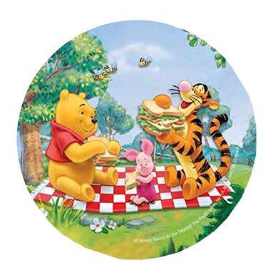 Pooh Kuchendekoration 20,5cm Essbar Wafer/Reis III. Papier Cup Cake Dekoration Topper Geburtstag Party Kids Hochzeit ()