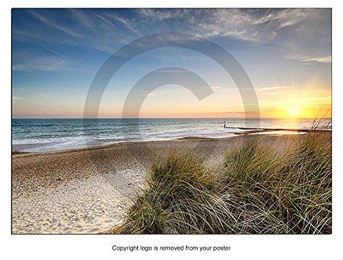poster-print-art-sunset-sand-dunes-hengistbury-head-beach-bournemouth-dorset-colour-size-a0