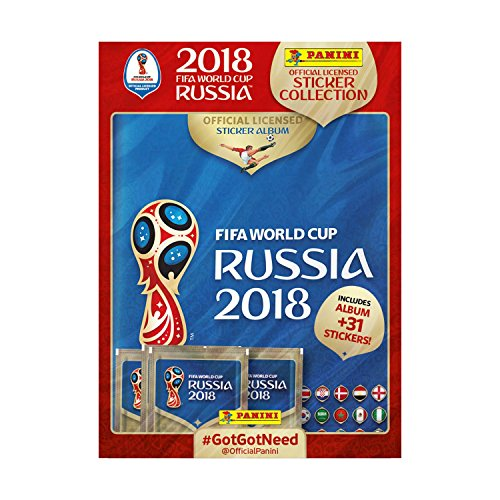 Wm Sticker Album Fifa (Panini FIFA World Cup 2018 003497spgb Aufkleber Starter Pack)