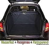 Starliner maßgeschneiderte Kofferraumauskleidung OPEL Zafira C Tourer, Bj: 01/2012 - bis jetzt, Farbe: SCHWARZ (SL06530S)