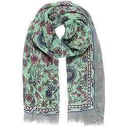 Pañuelo Fulard Bufanda Cuello 100% Viscosa de Mujer Estampado y Diseño Español (P042-10)