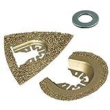 Wolfcraft 3993000 - Set accessori per sega a vibrazione per pietra e piastrelle