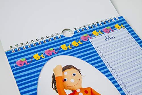 strömLilli Geburtstags – Kalender mit lustigen Übungen zum STRÖMEN und Entspannen - 4