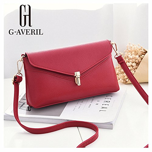 G-AVERIL, Borsa a mano donna Red Wine Red Wine