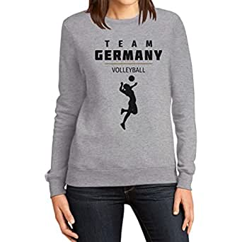 Damen Volleyball Team Germany Olympische Spiele Frauen Sweatshirt