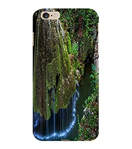 ColourCraft Beautiful WaterFall Design Back Case Cover for APPLE IPHONE 6S PLUS