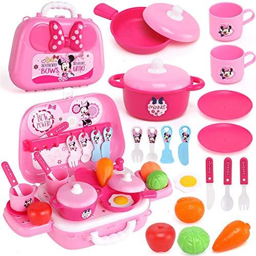 Talles Caja de almacenamiento de cosméticos de simulación de niña Juguete innovador para niños de Play House