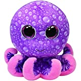 T.Y 36740 - Peluche Octopus Pulpo, 9.6 cm (36740) - Peluche Pulpo Legs Beanie Boos 15 cm, Juguete Peluche Beanie Boos Primera infancia