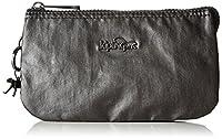 Kipling Women�??s Creativity L Coin Purse, Metallic Black, 18.5x11x5 cm (B x H x T)