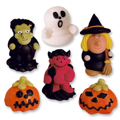 6 Figuren, Halloween, Zucker