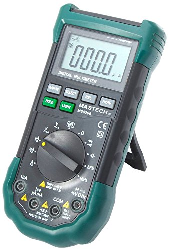 MASTECH MS8268 Digital Multimeter (3 Batterien LR03, 195 x 92 x 55 mm) -