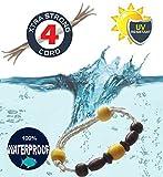 Bracciale 'Capri' braccialetto uomo donna gioiello naturale, nautico, surf, surfer, skater, new age, etnico, nautico, marinaio, Yacht master club