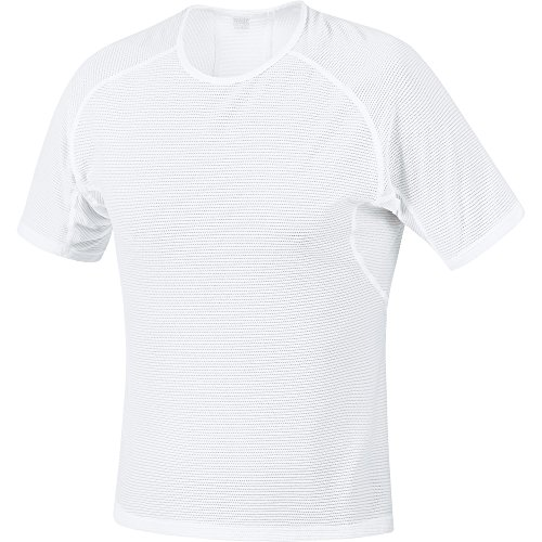 GORE BIKE WEAR BASE LAYER FUNCIONAL   CAMISETA DE CICLISMO PARA HOMBRE  COLOR BLANCO  TALLA M