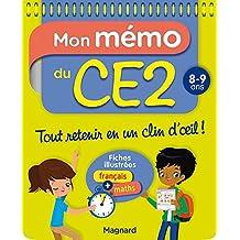 Mon Memo du CE2 8 9 Ans