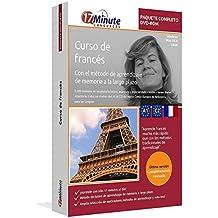 Curso de francés: Paquete completo (desde el nivel A1 hasta el C2): Software compatible con Windows y Linux. Aprende francés con el método de aprendizaje de memoria a largo plazo