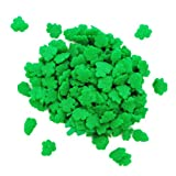 Dress My Cupcake DMC27288 Decorating Edible Cake and Cookie Confetti Sprinkles, Mini Shamrocks, 2.6-Ounce