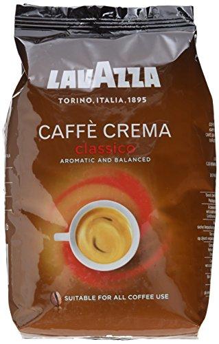 Preisvergleich Produktbild Lavazza Caffè Crema Classico,  1er Pack (1 x 1 kg)
