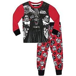 Star Wars - Pijama para Niños - Star Wars - Ajuste Ceñido - 8 - 9 Años