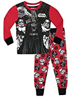 38d751761a Star Wars - Pigiama a maniche lunga per ragazzi - Star Wars - Vestibilitta  Stretta - 6 - 7 Anni