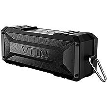 VTIN Punker Enceinte Bluetooth Portable Haut-Parleur Waterproof 20W Sans Fil avec Définition Stéréo, 30 Heures d'Autonomie en Lecture Mains Libres Téléphone