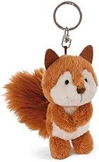 Nici 41891 Schlüsselanhänger Forest Friends Eichhörnchen Squini Oak, braun