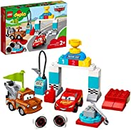 LEGO DUPLO Cars Lightning McQueen's Race Day 10924 Disney and Pixars Cars movies set, Preschool Toy for To