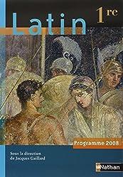 Latin 1e : Programme 2008