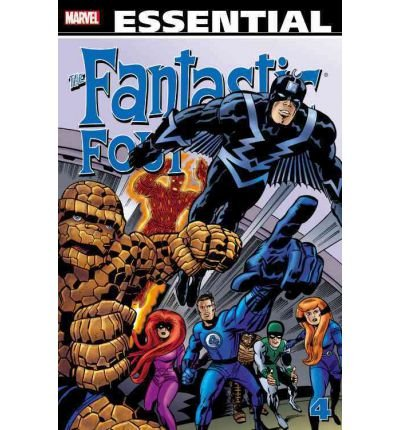 [ ESSENTIAL FANTASTIC FOUR - VOLUME 4 (REVISED) (ESSENTIAL FANTASTIC FOUR #04) - ] Essential Fantastic Four - Volume 4 (Revised) (Essential Fantastic Four #04) - By Lee, Stan ( Author ) Jan-2012 [ Paperback ]