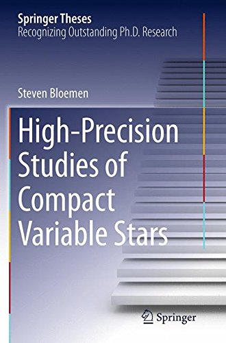 Preisvergleich Produktbild High-Precision Studies of Compact Variable Stars (Springer Theses)