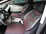 Sitzbezüge k-maniac | Universal schwarz-rot | Autositzbezüge Set Vordersitze | Autozubehör Innenraum | Auto Zubehör für Frauen und Männer | V534674 | Kfz Tuning | Sitzbezug | Sitzschoner