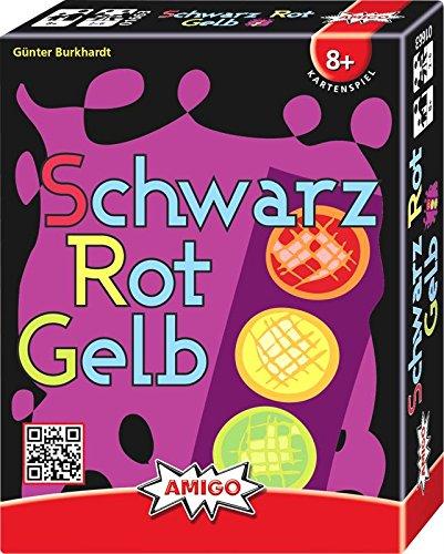 AMIGO 01663 - Schwarz Rot Gelb, Kartenspiel (Spiele Grün)