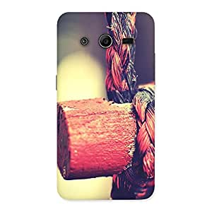 Bamboo And Rope Back Case Cover for Galaxy Core 2