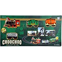 jesilo Choo Choo Classical Toy Battery Operated Train Set with Light & Sound