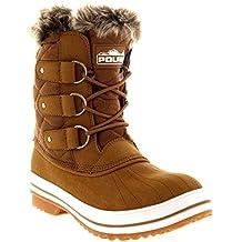 Amazon.es: botas para nieve mujer Beige