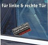 Aufkleber / Autoaufkleber nix