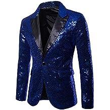Amazon.es  chaqueta lentejuelas - Multicolor 6887484fc15