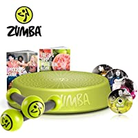 Preisvergleich für Zumba Fitness Incredible Results DVD-Set + Zumba Step Rizer + Zumba Fitness Toning Sticks 0,5 kg im Set | Zumba, das revolutionäre Fitnessprogramm - tanzen Sie sich zur Traumfigur!
