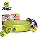 Zumba Fitness Incredible Results DVD-Set + Zumba Step Rizer + Zumba Fitness Toning Sticks 0,5 kg im...